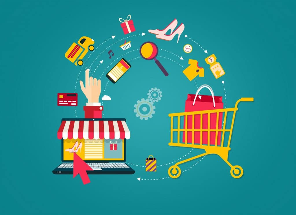 helping consumers to shop online