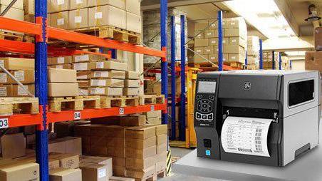 انواع چاپگر برچسب بارکد و RFID
